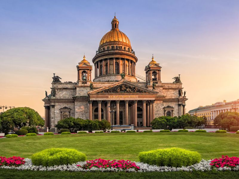 Экскурсия Обзорная экскурсия по Петербургу с посещением Исаакиевского собора
