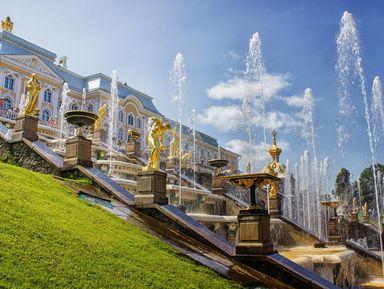 """Экскурсия """"Дворцы, великолепный парк и фонтаны Петергофа"""": фото"""