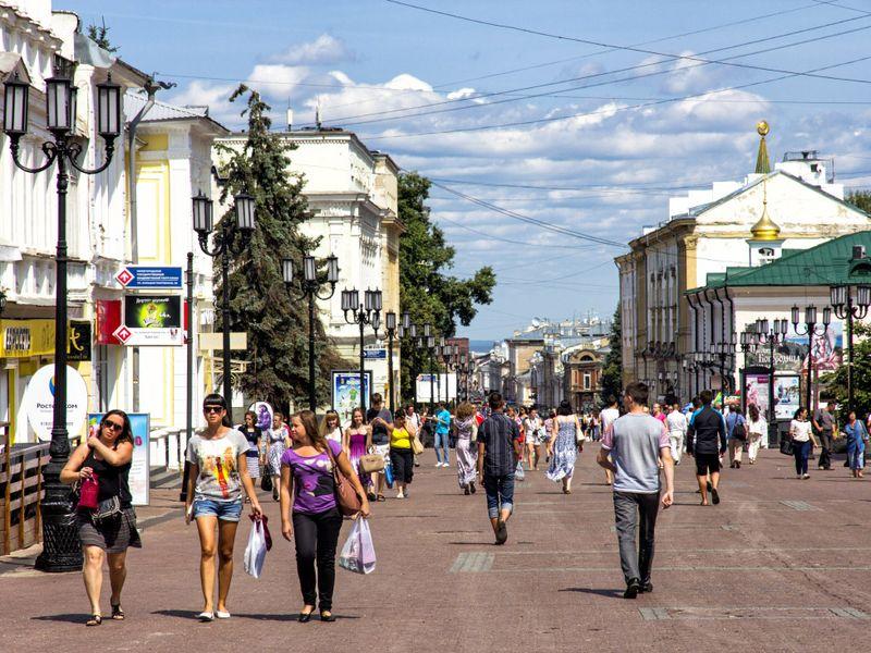 Главное в Нижнем: набережные, площади, улицы