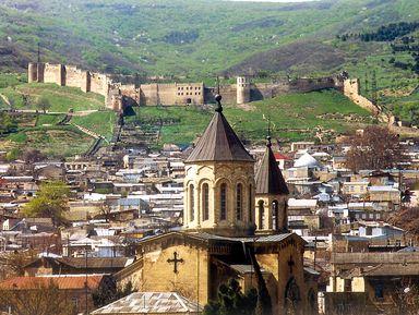 Древний Дербент и цитадель Нарын-Кала