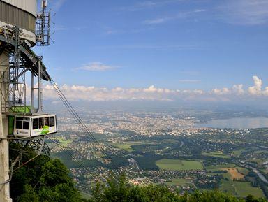 Женева и окрестности: гора Салев