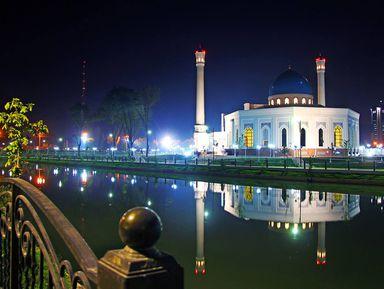 Экскурсия в Ташкенте: Огни ночного Ташкента